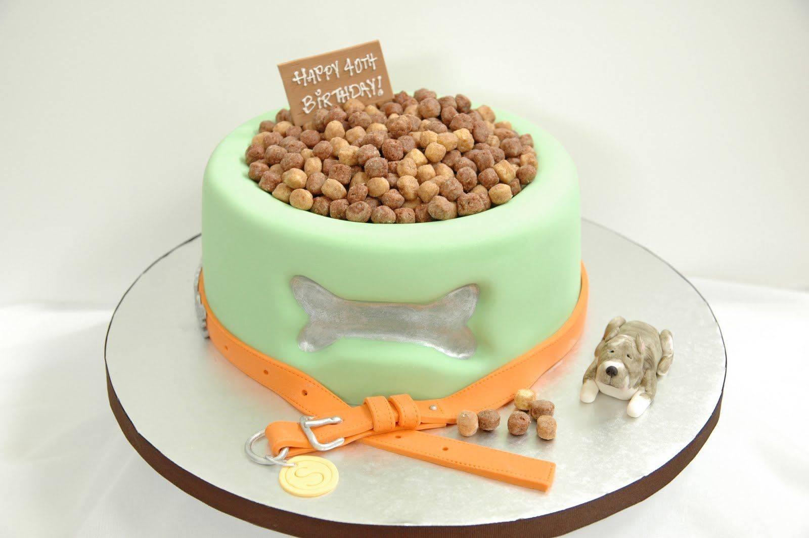Как испечь торт для собак? рецепт