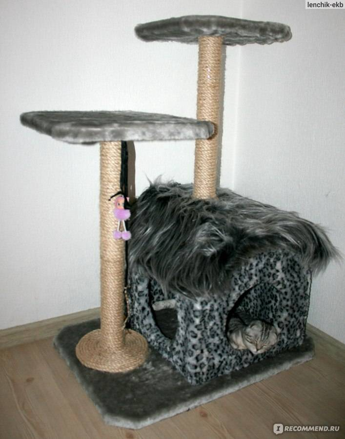 Мастерим когтеточку для котов (пошаговая инструкция)