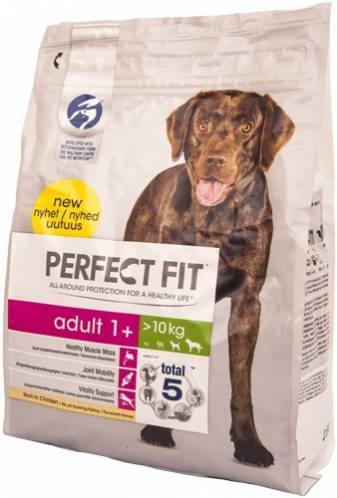 «перфект фит» для собак и щенков: корм для разных пород