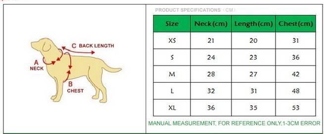 Как правильно определить размер одежды и обуви для собаки: мерки, таблицы, размерные сетки