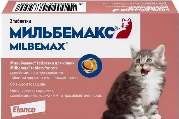 Мильбемакс для кошек и собак - описание, применение, инструкция и цена препарата - petstime.ru