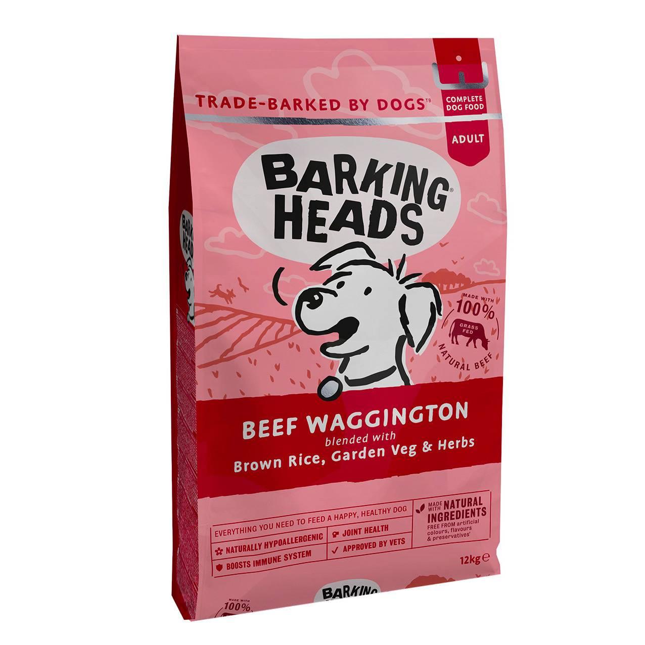 Обзор корма для собак barking heads