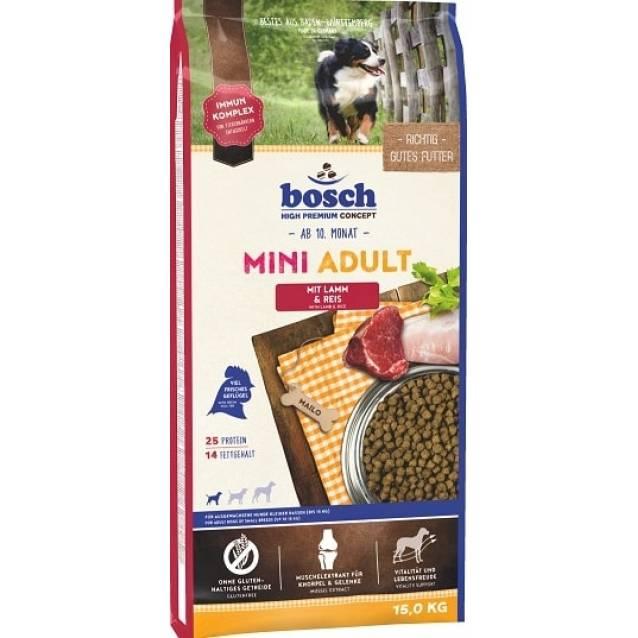 Корм bosch для собак: отзывы и обзор состава