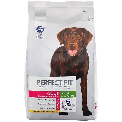Корма для собак perfect fit (перфект фит)