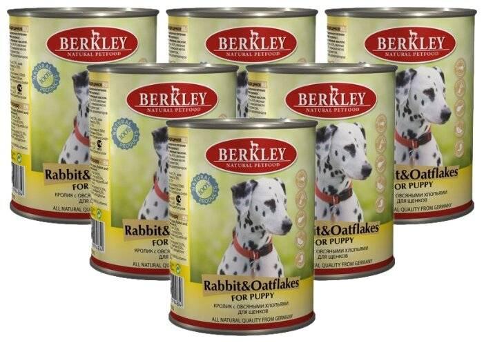 Корм для собак berkley: отзывы и обзор состава
