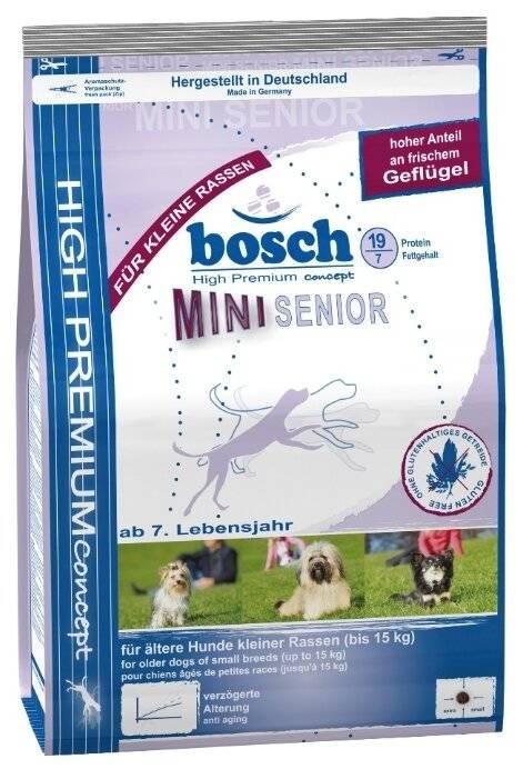 Корм bosch для собак