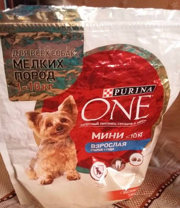 Корм purina one (пурина ван) для собак