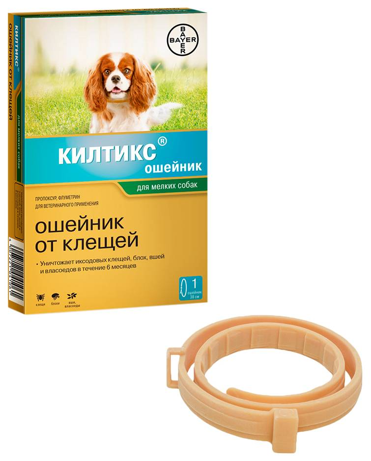 Лучшие ошейники для собак от блох и клещей