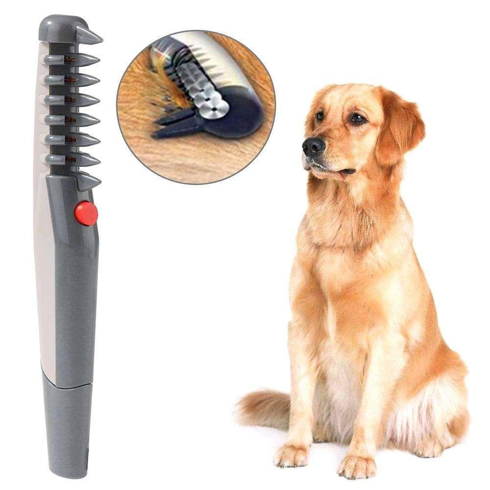 Расческа для собак для вычесывания шерсти