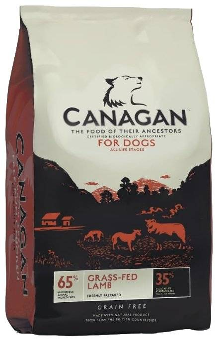 Корм канаган (canagan) для собак | состав, цена, отзывы