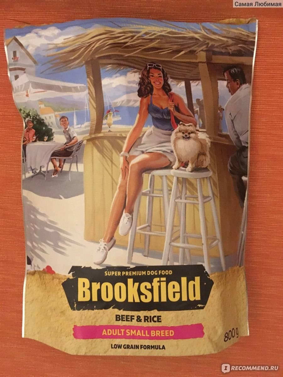 Brooksfield (бруксфилд) корм для кошек | отзывы, цена, состав, купить