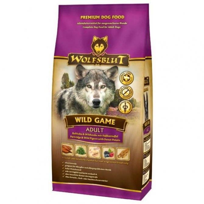 Корм для собак wolfsblut (волчья кровь) - описание, отзывы