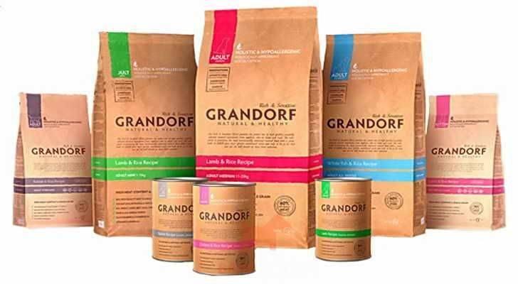 Корм «грандорф» («grandorf») для кошек – полезно и вкусно