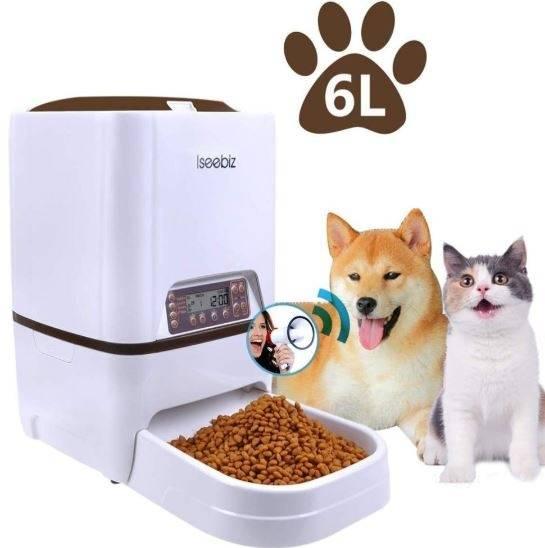 Умные автоматические кормушки для кошек и собак — как выбрать подходящий вариант?