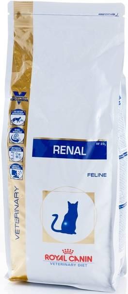 Роял канин ренал для кошек: состав, ограничения для применения