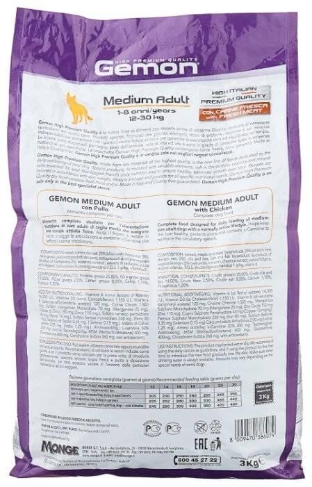 Gemon корм для собак: 105 фото, отзывы и обзор состава корма для собак