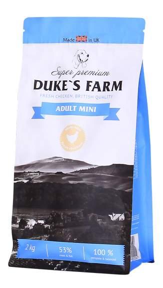 Корма для собак duke's farm
