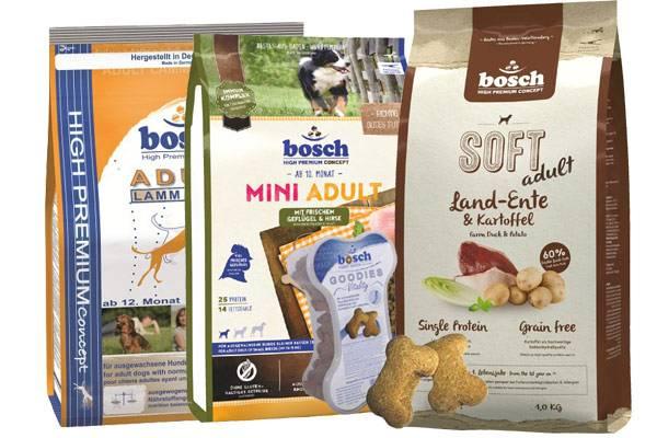 Корм для собак бош (bosch): отзывы и обзор состава | «дай лапу»