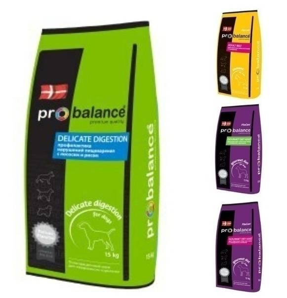 Корм probalance (пробаланс) для собак
