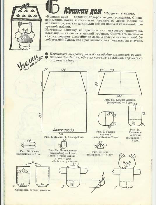 Одежда для кошек своими руками - пошаговые инструкции