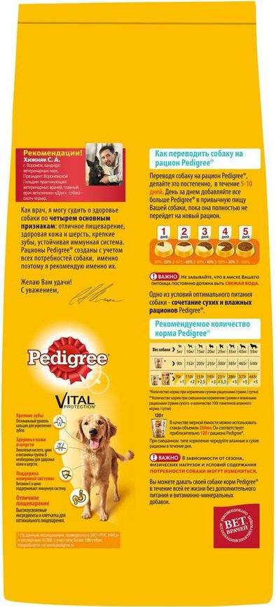 Как перевести собаку на сухой корм и кормить правильно - можно ли размачивать сухой корм и сколько нужно давать собаке в день, можно ли смешивать, читаем на сайте лапы и хвост