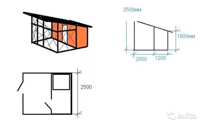 Как построить вольер и будку для вео своими руками: инструкция с чертежами и размерами