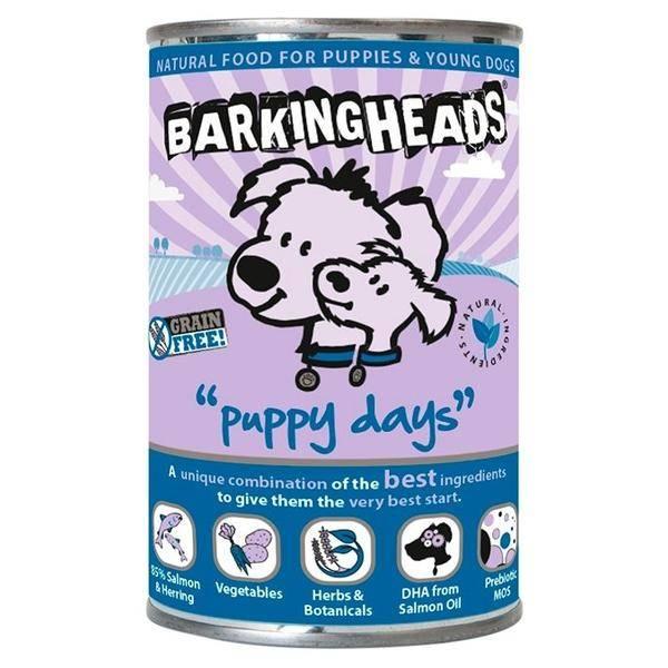 Описание состава консерв и сухих собачьих кормов фирмы barking heads