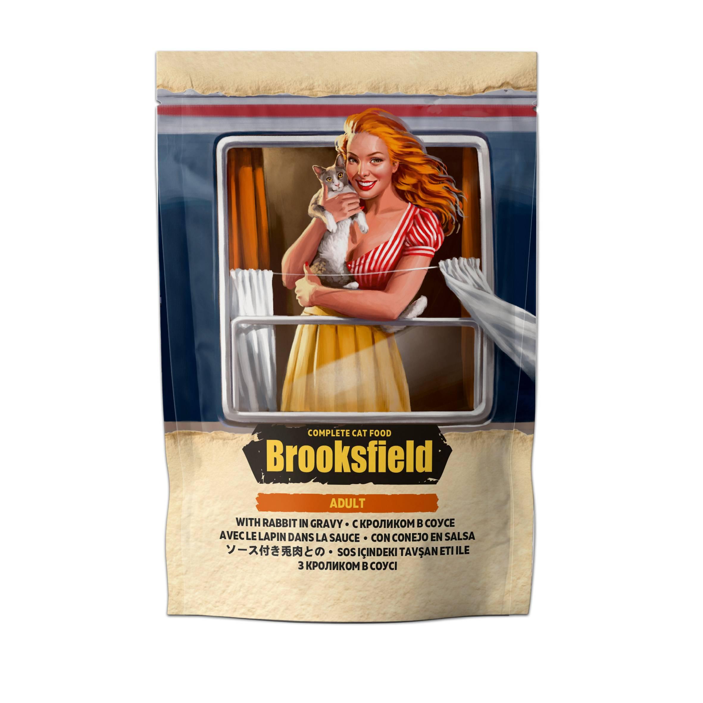 Обзор сухого корма brooksfield