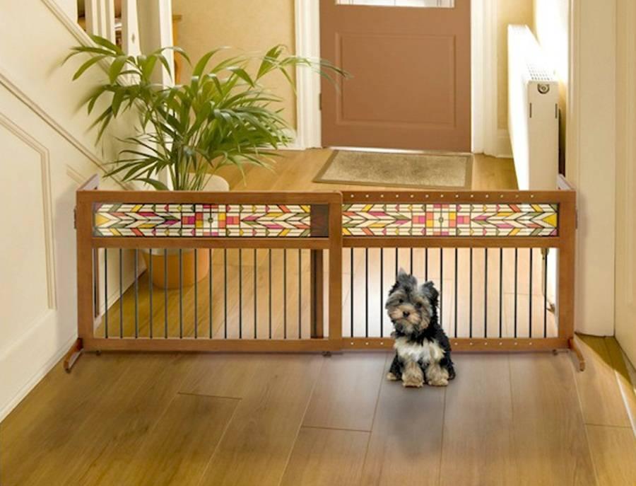 Как сделать вольер для собаки в квартиру своими руками