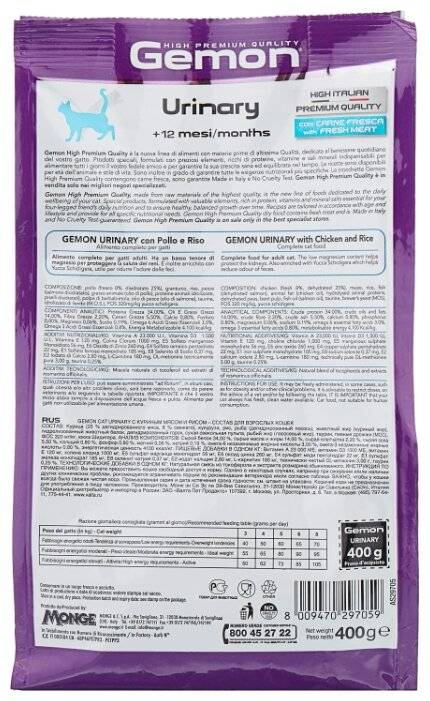 Гемон корм для собак состав: gemon отзывы