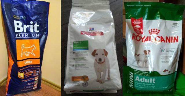 Рейтинг лучших сухих кормов для собак премиум-класса: цены, фото