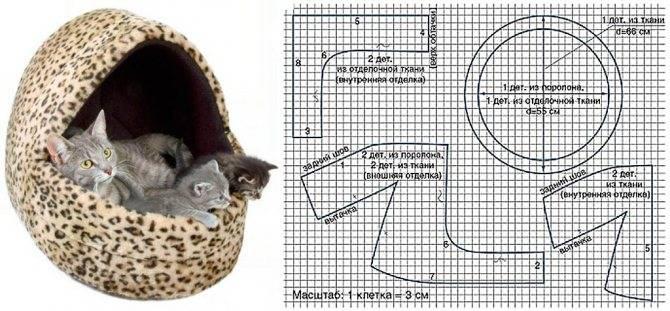 Лежанка для кошки своими руками - 11 идей как сделать, инструкция и мастер-классы (фото)