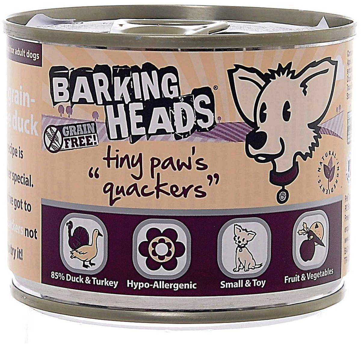 Корм для собак баркинг хедс: отзывы и обзор состава (barking heads) | «дай лапу»