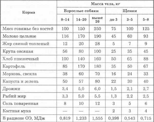 Как правильно кормить лабрадора в домашних условиях?