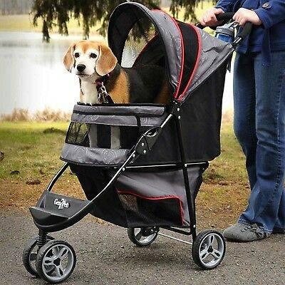 Коляска для собак: обзор инвалидных и прогулочных вариантов