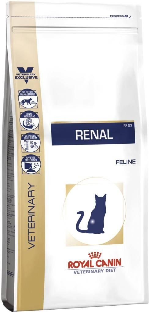 Royal canin renal для кошек – как правильно применять лечебный корм?