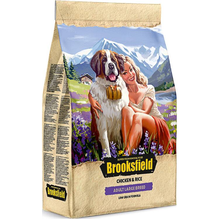 Brooksfield — корм для кошек