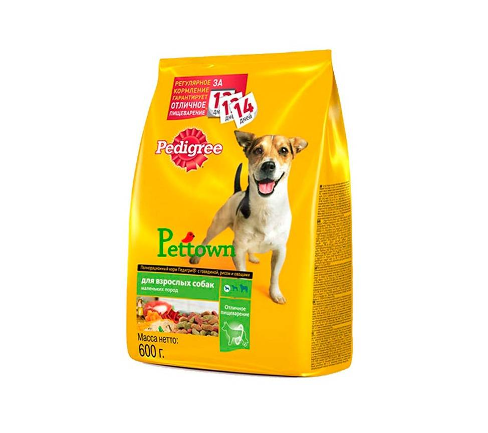 Дозировка сухого корма для щенков