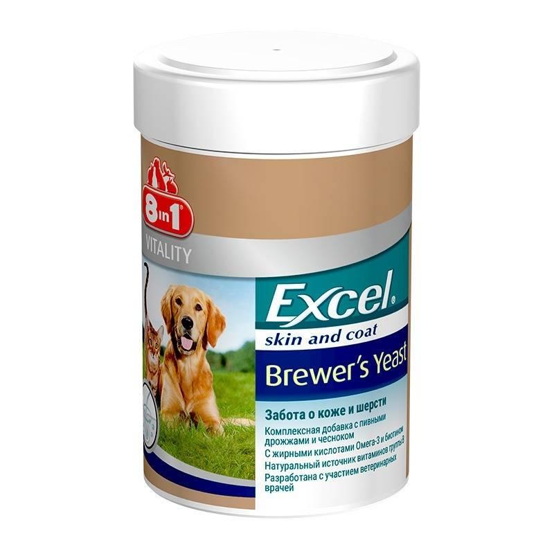 """Витамины """"excel 8 в 1"""" для собак: описание, инструкция по применению, состав и отзывы"""