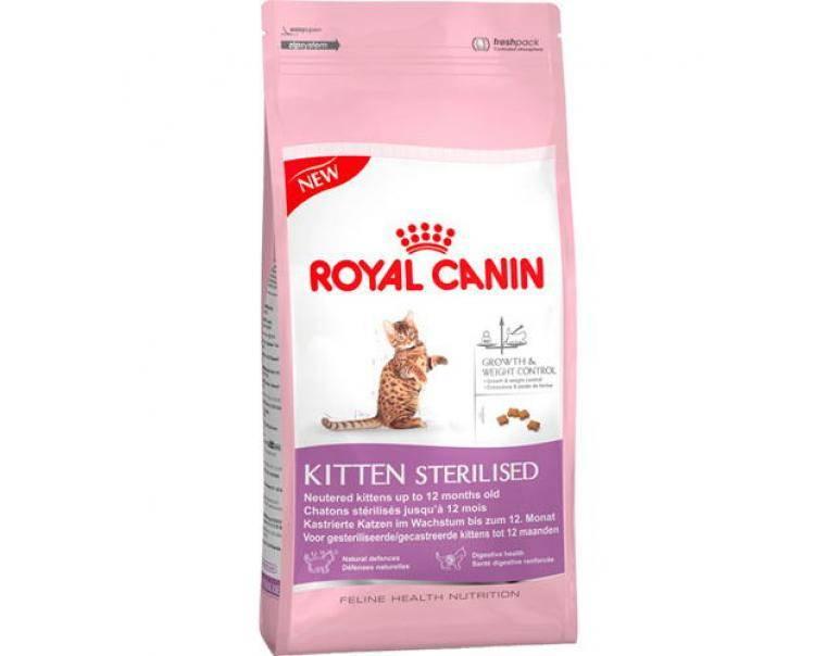 «роял канин» для кошек и котят: основные линейки и состав корма