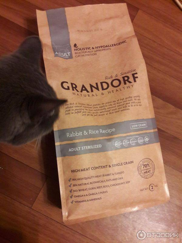 Какой корм лучше для кошек grandorf или acana | в чем разница