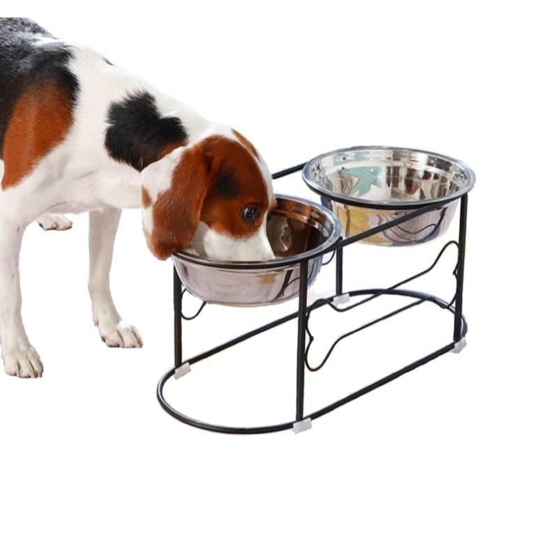 Как сделать подставку к миске для собаки [своими руками]