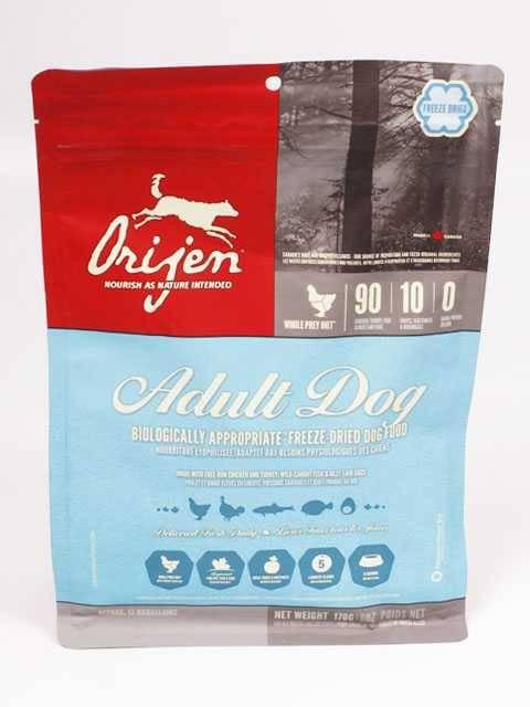 Корм orijen (ориджен) для собак | состав, цена, отзывы