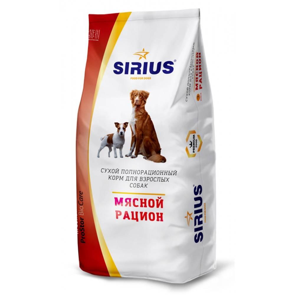 Подробный обзор кормов от фирмы «ландор» для щенков и взрослых собак