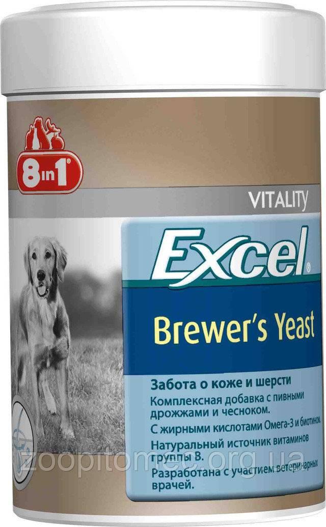 Инструкция по применению витаминов «brewers yeast with garlic» линейки «excel» для котят и взрослых кошек от «8 in 1»