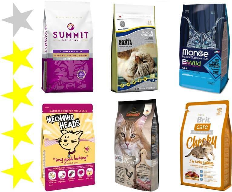 Топ-7 влажных кормов для кошек – рейтинг 2018 года