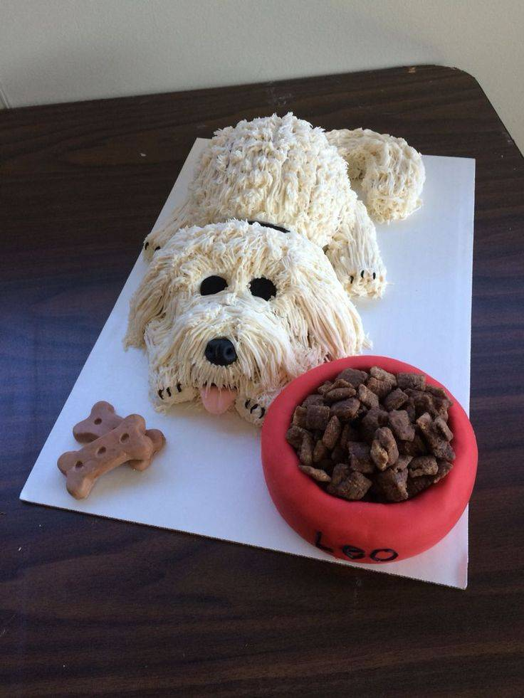Торт собака со сгущенкой