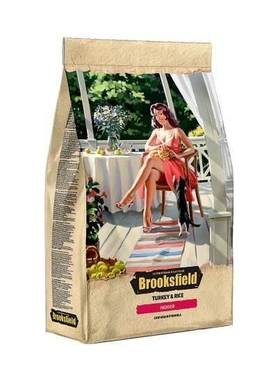 Характеристика кормов для кошки от фирмы бруксфилд (brooksfield)
