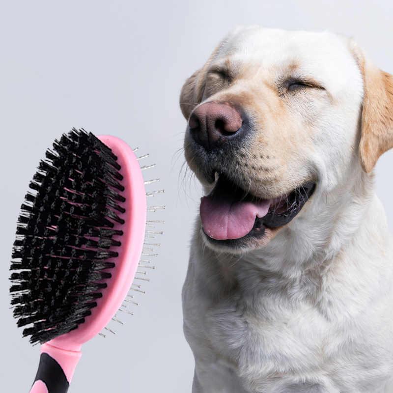 Вычесывание шерсти собак: как правильно расчесывать собаку | royal groom