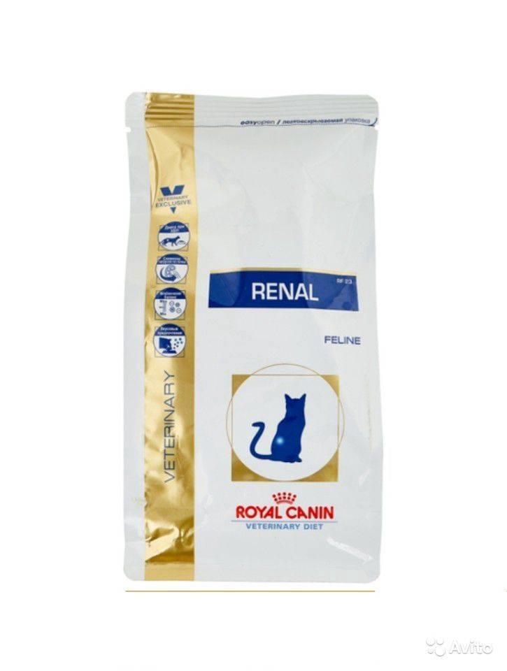 Корм royal canin renal: состав, особенности применения, лечебный эффект для кошек, отзывы